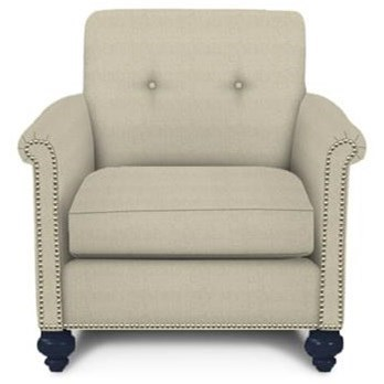 Modern Select Upholstered Chair by Kincaid Furniture at Johnny Janosik