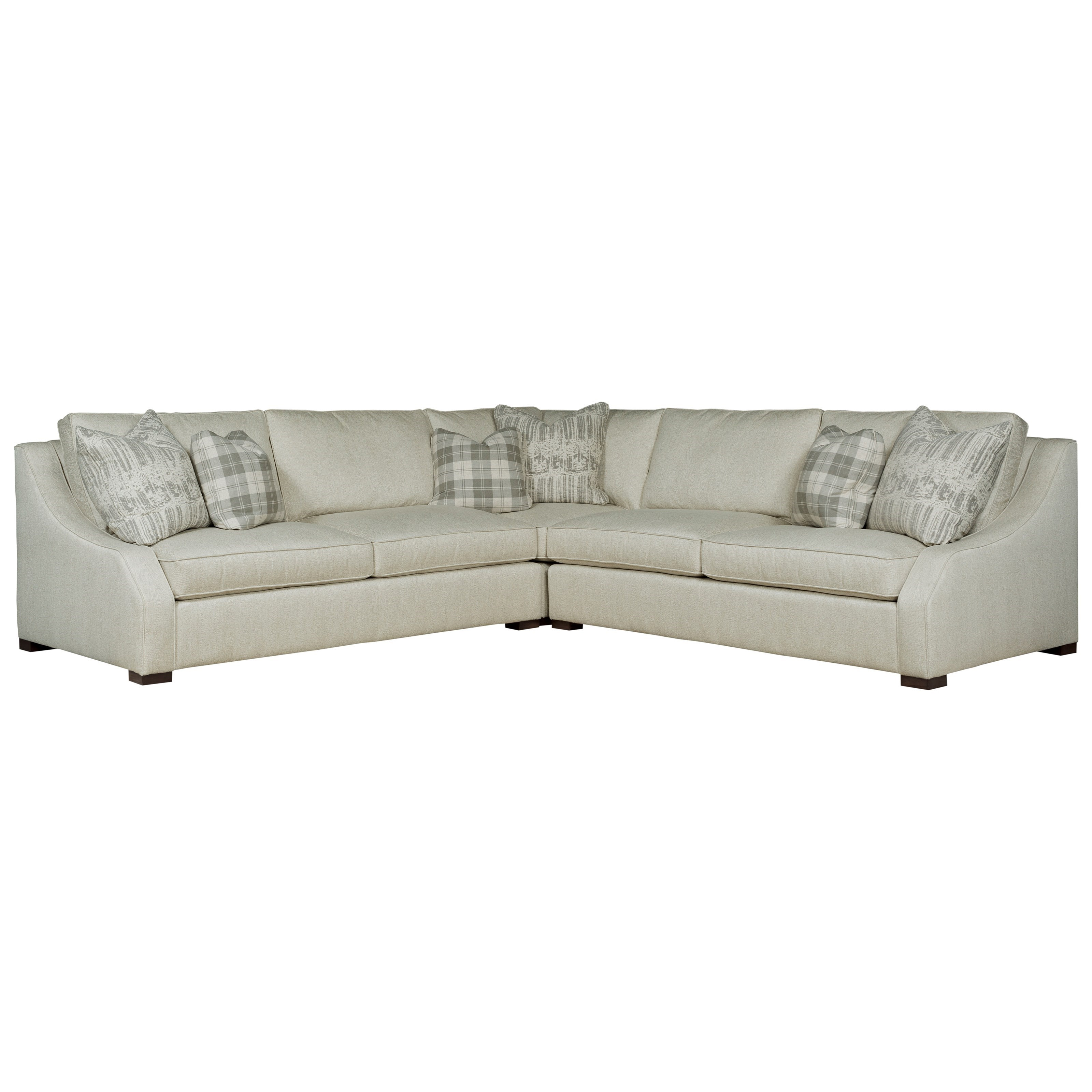 Monarch Sectional by Kincaid Furniture at Johnny Janosik