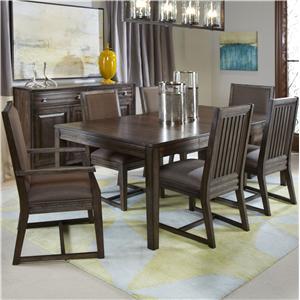 Kincaid Furniture Montreat 7 Pc Formal Dining Set