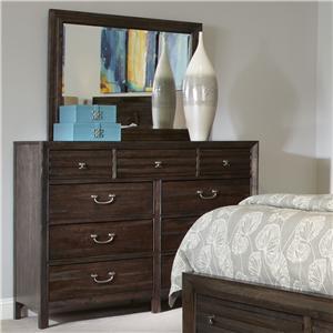Kincaid Furniture Montreat Bureau & Mirror