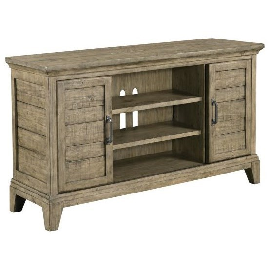 """Plank Road 54"""" Arden Entertainment Console by Kincaid Furniture at Johnny Janosik"""