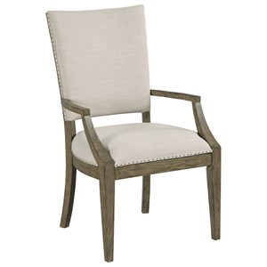 Howell Upholstered Dining Arm Chair