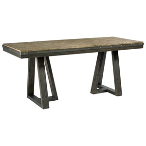 Kimler Solid Wood Counter Height Dining Table