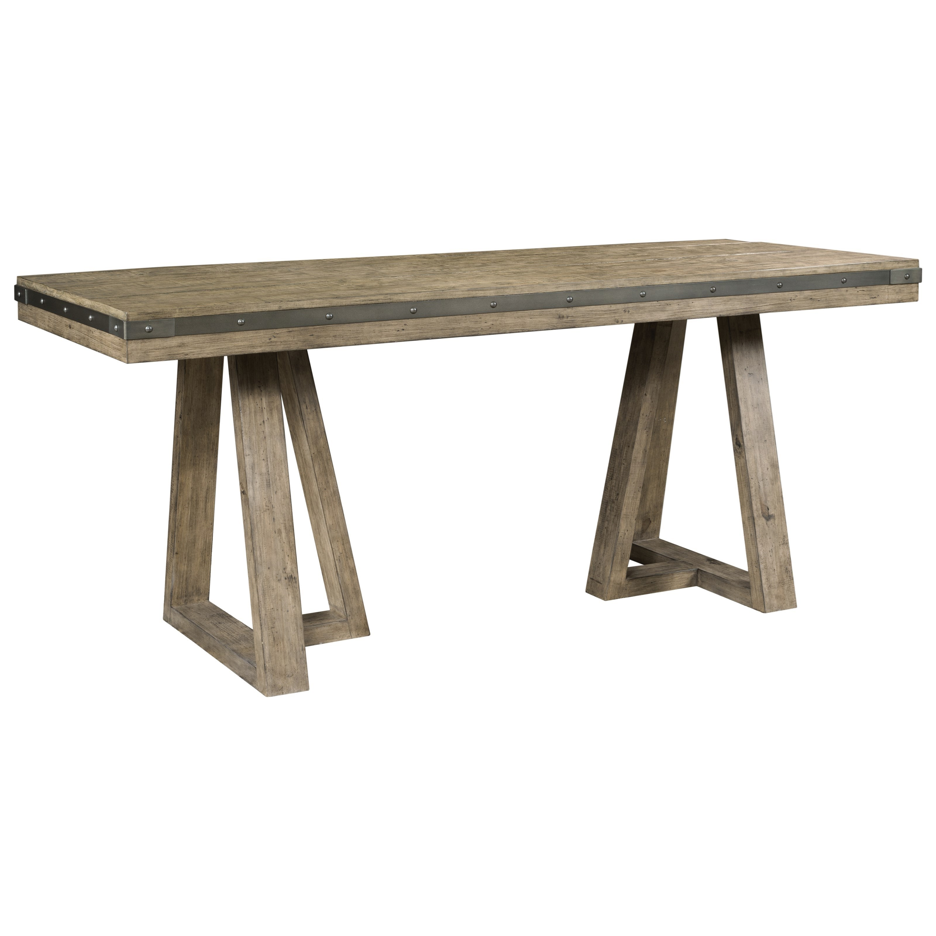 Plank Road Kimler Counter Height Dining Table by Kincaid Furniture at Northeast Factory Direct