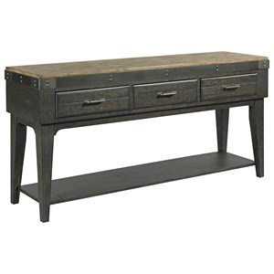 Artisans Solid Wood Sideboard with Three Drawers