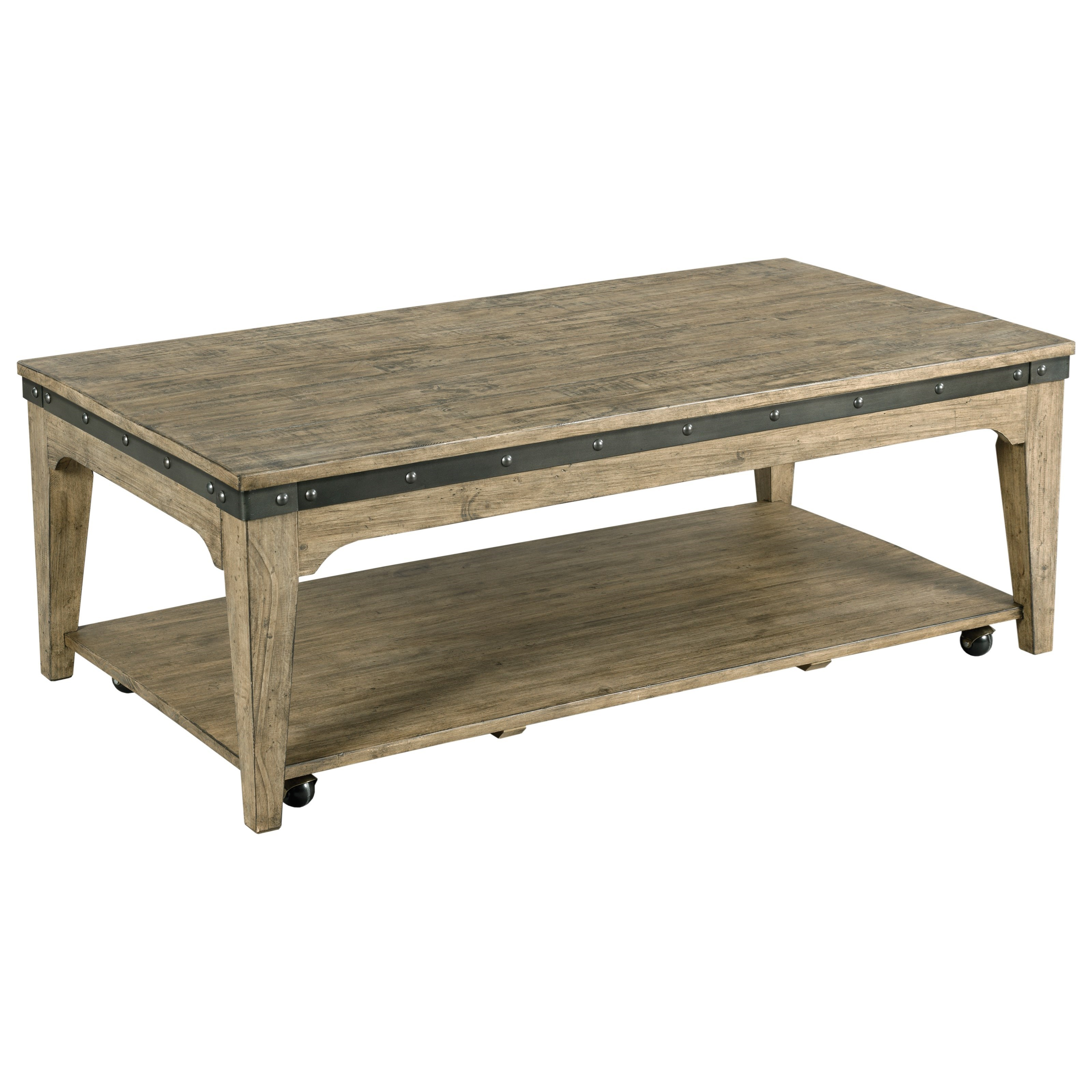 Plank Road Artisans Rectangular Cocktail Table          by Kincaid Furniture at Northeast Factory Direct