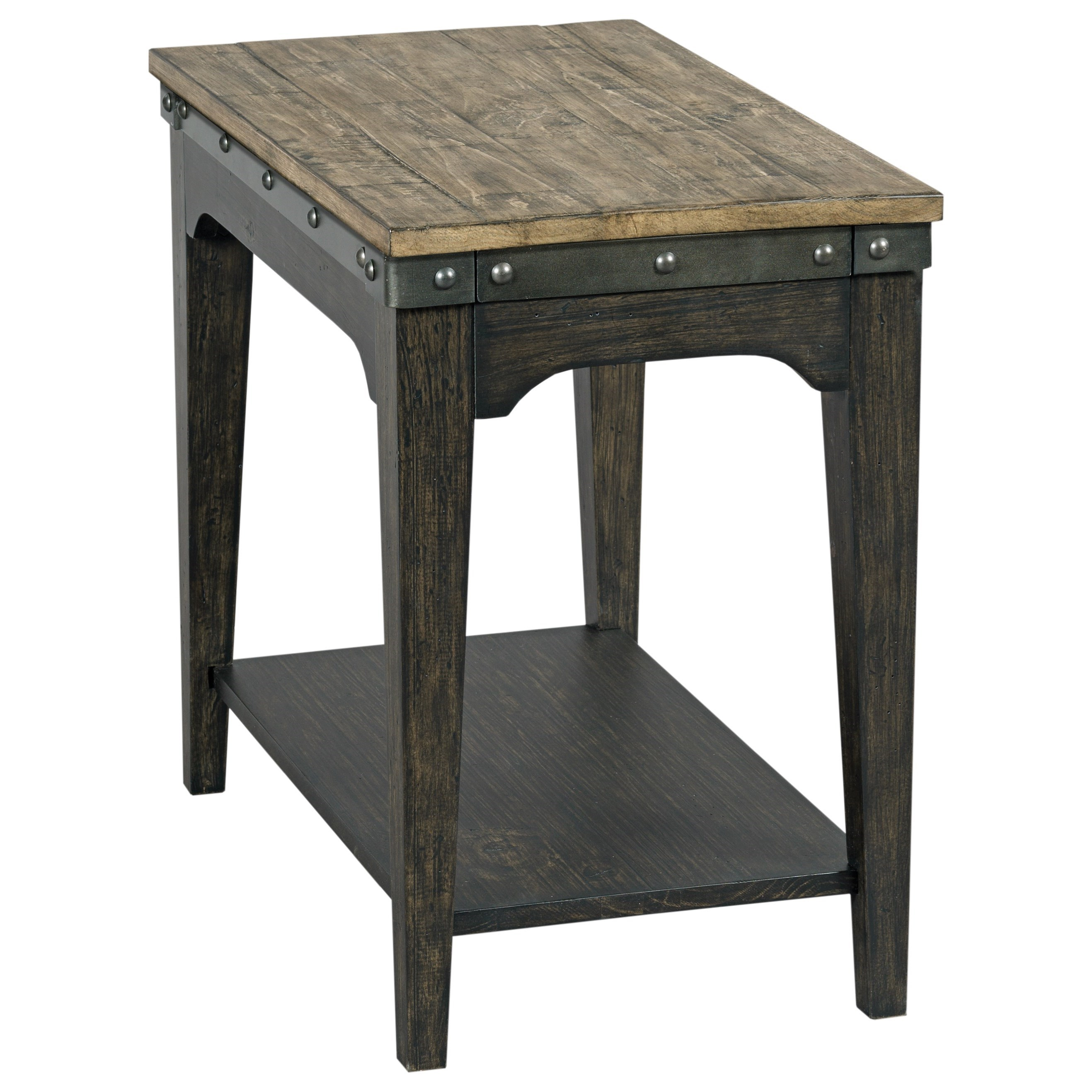 Plank Road Artisans Chairside Table                     by Kincaid Furniture at Darvin Furniture