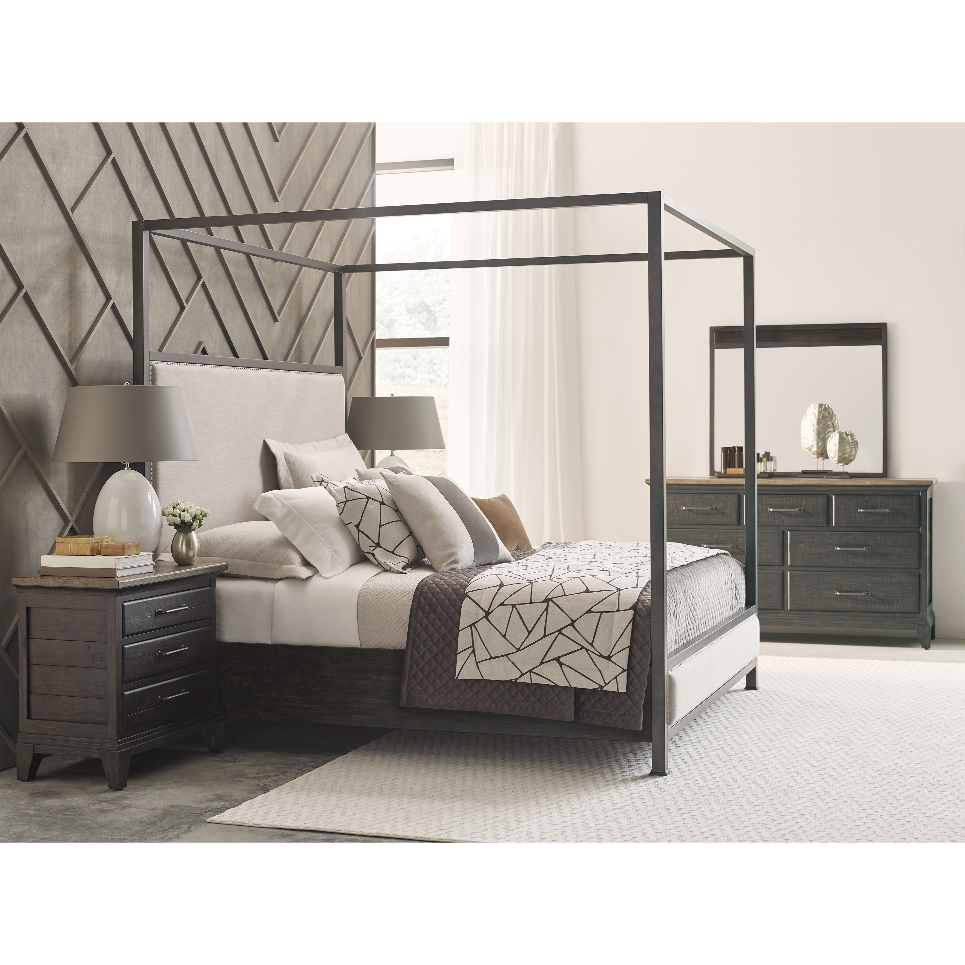Plank Road California King Bedroom Group by Kincaid Furniture at Home Collections Furniture