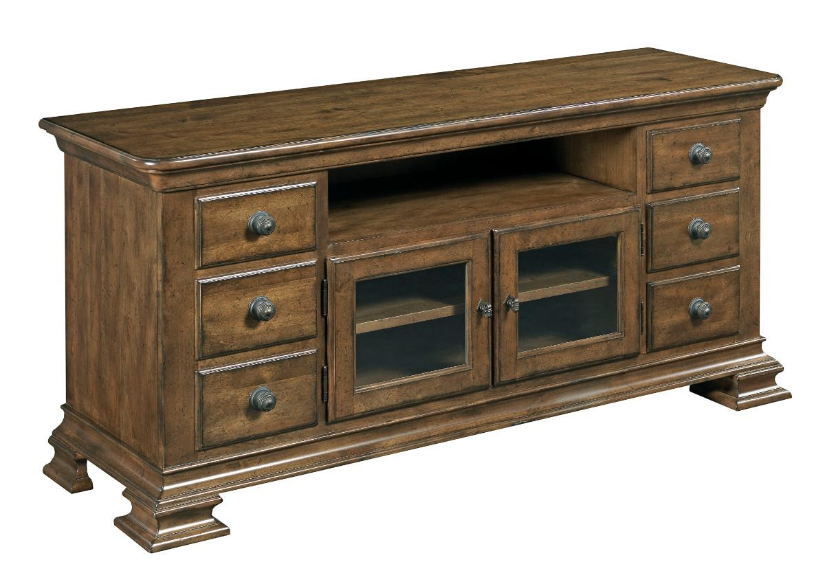 Portolone Entertainment Console by Kincaid Furniture at Johnny Janosik