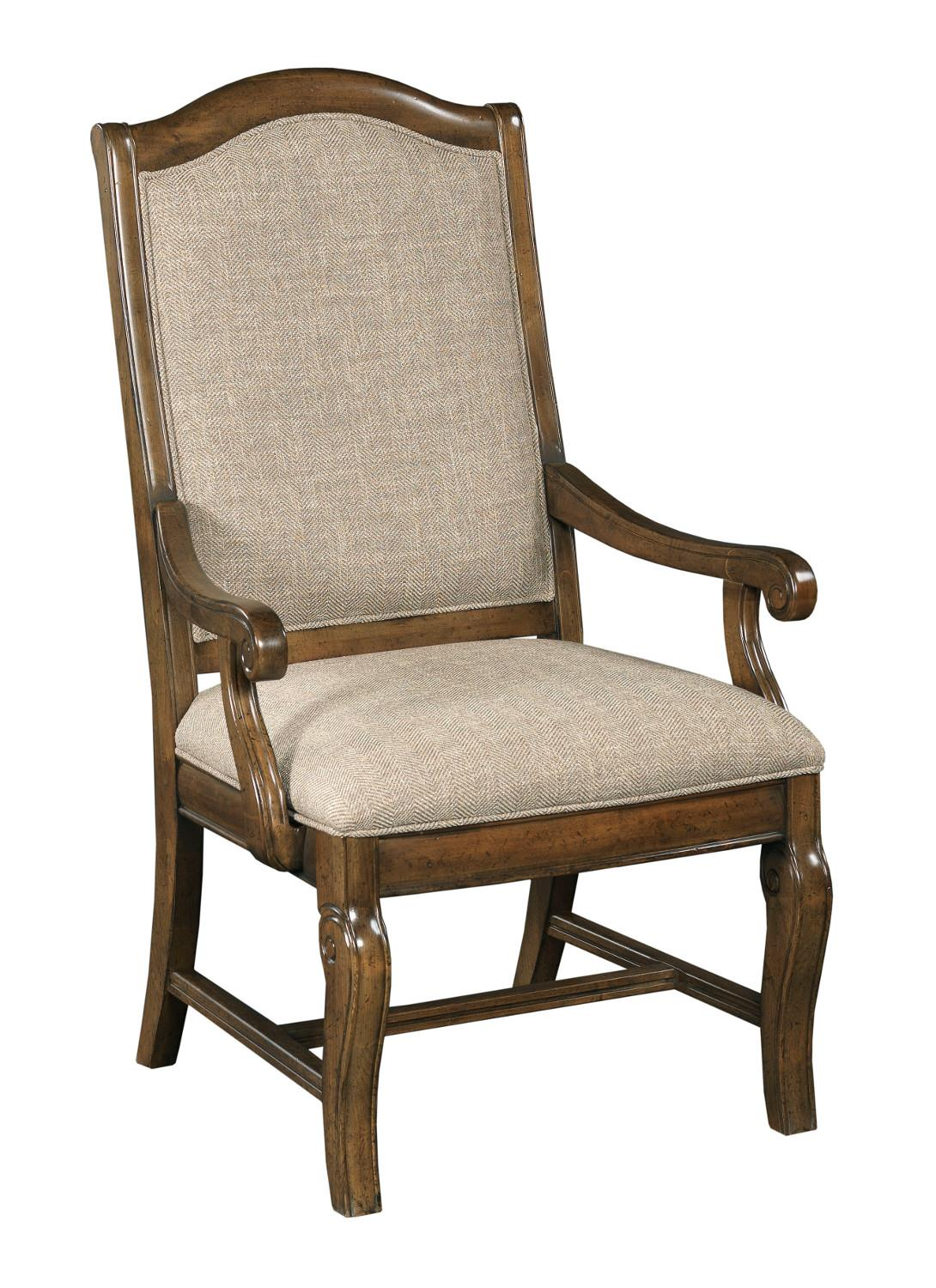 Portolone Upholstered Arm Chair by Kincaid Furniture at Johnny Janosik