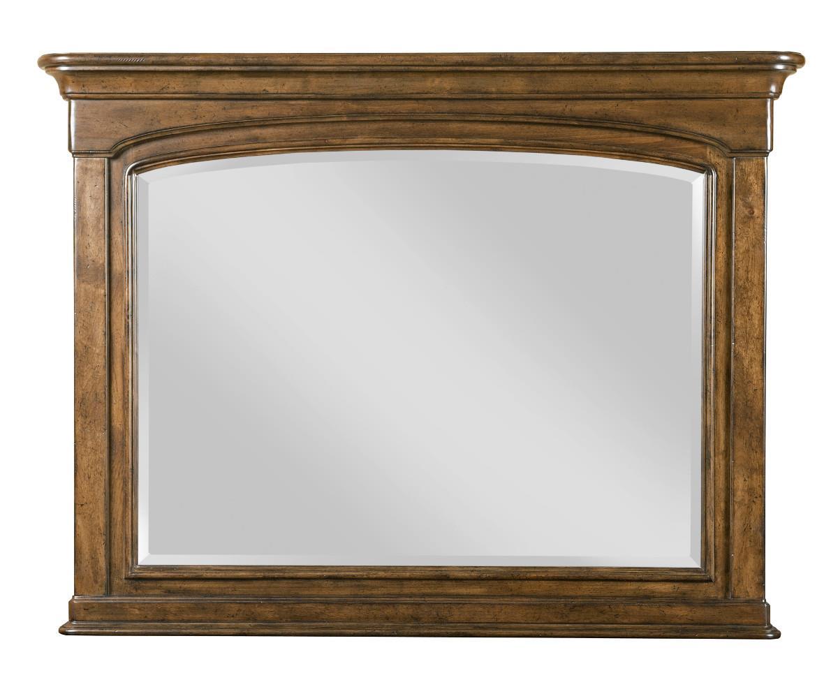 Portolone Landscape Mirror by Kincaid Furniture at Johnny Janosik
