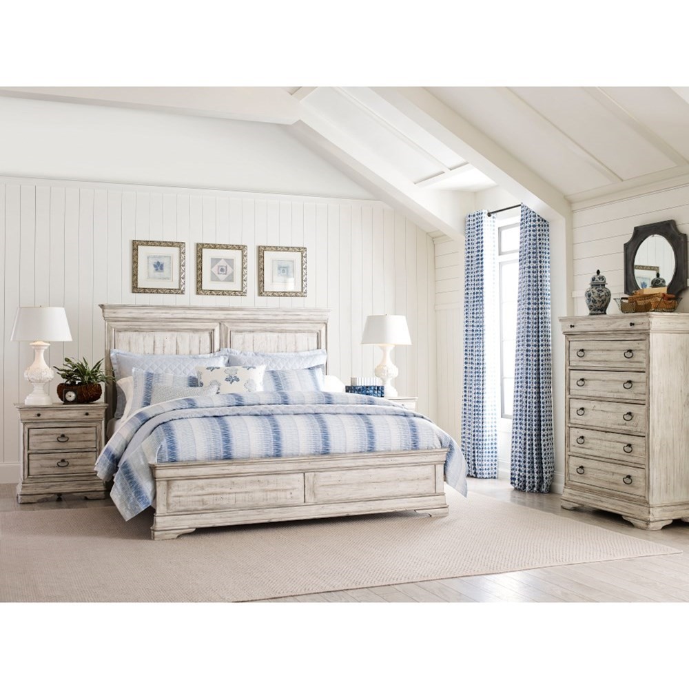 Selwyn Queen Bedroom Group by Kincaid Furniture at Johnny Janosik
