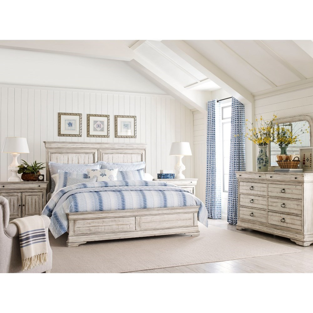 Selwyn Queen Bedroom Group by Kincaid Furniture at Jacksonville Furniture Mart