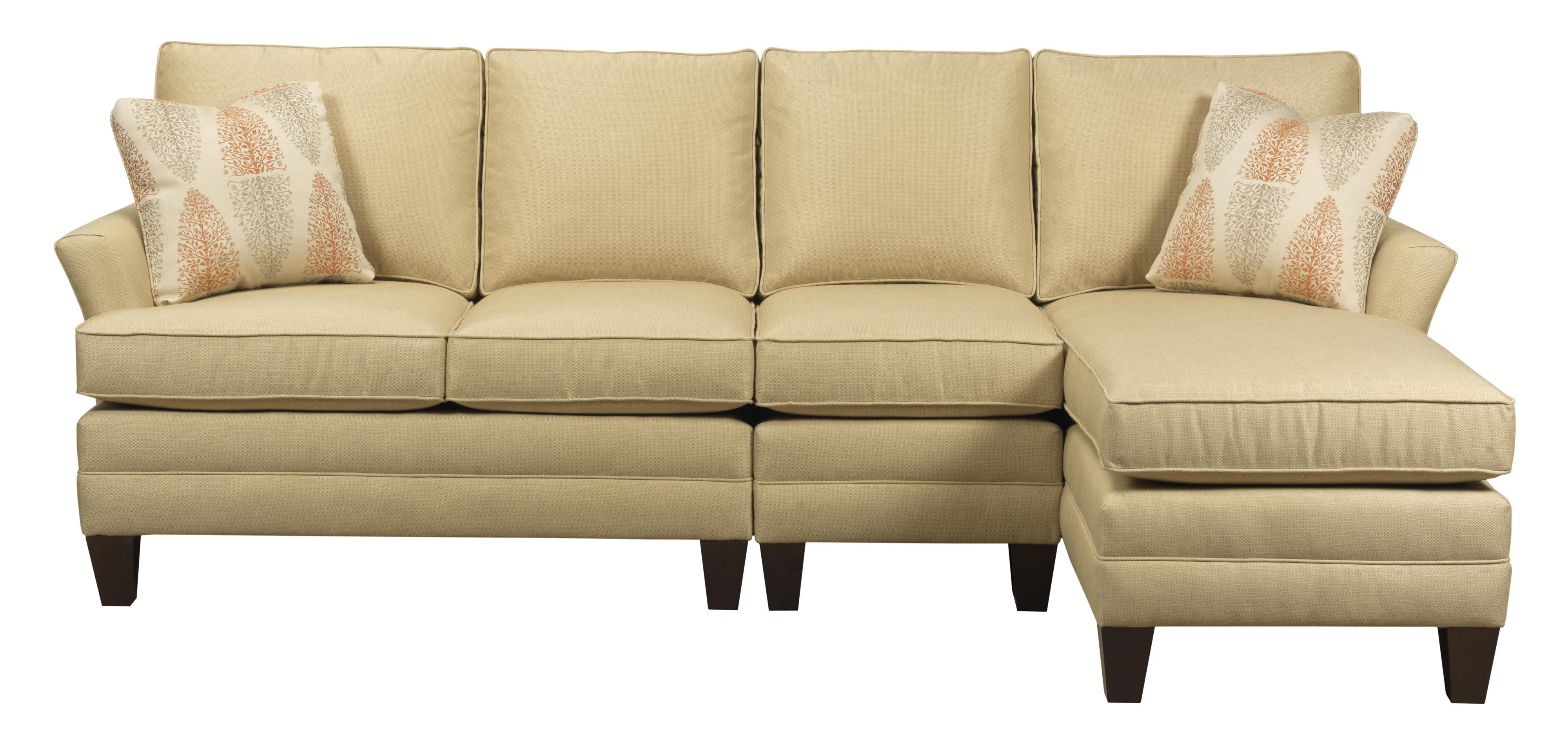Studio Select Custom 3 Pc Sectional w/ LAF Chaise by Kincaid Furniture at Home Collections Furniture