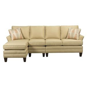 Kincaid Furniture Studio Select <b>Custom</b>3 Pc Sectional w/ RAF Chaise