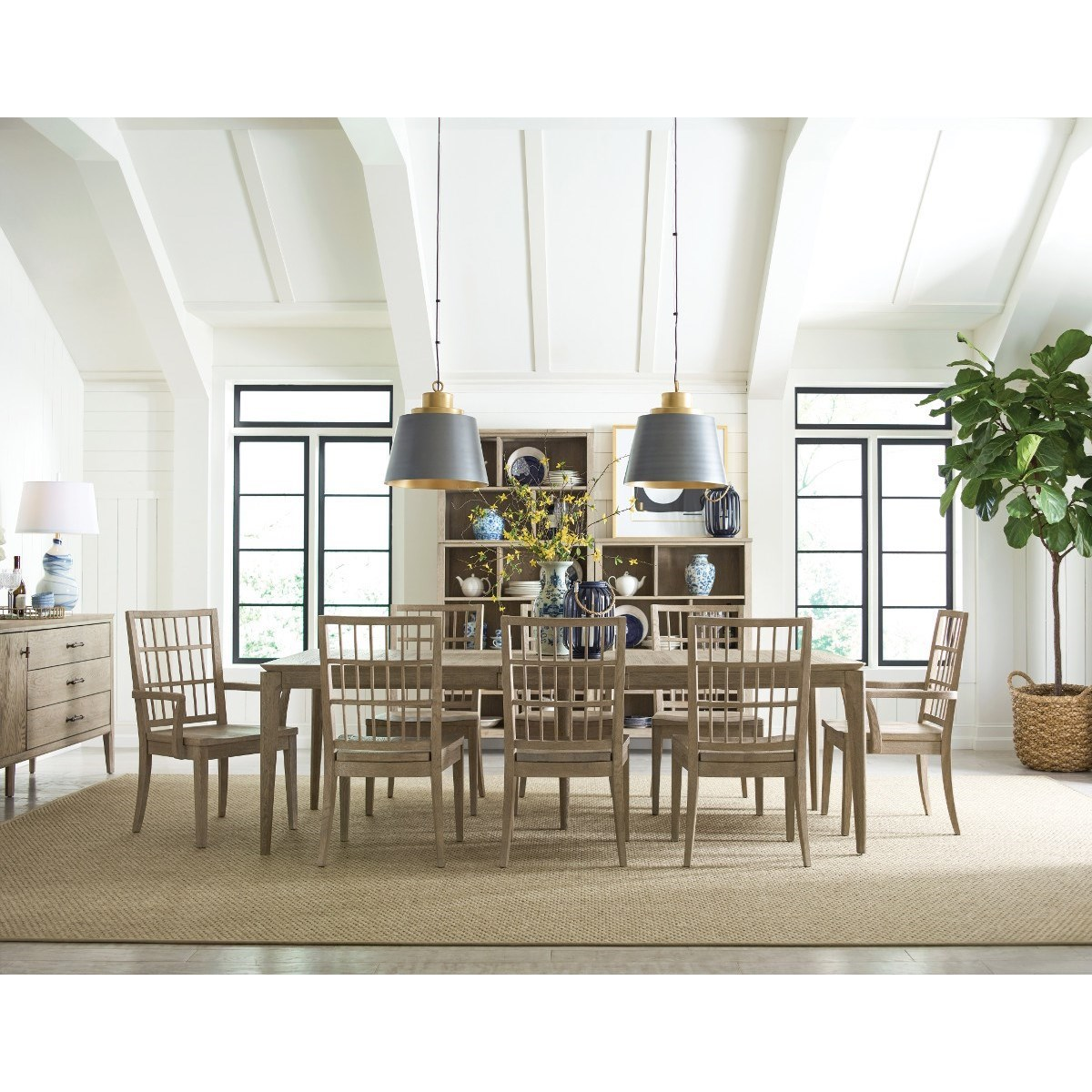 Symmetry Dining Room Group at Stoney Creek Furniture