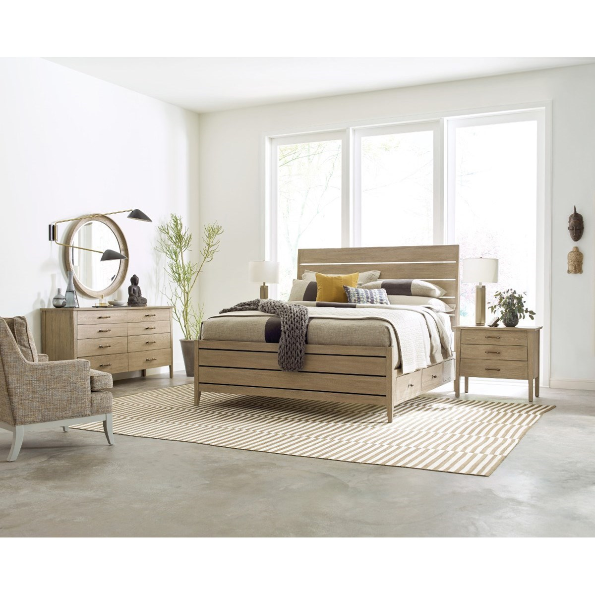 Symmetry King Bedroom Group by Kincaid Furniture at Johnny Janosik