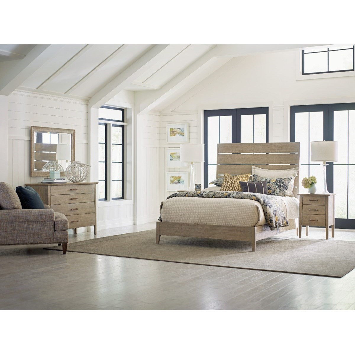 Symmetry California King Bedroom Group by Kincaid Furniture at Johnny Janosik