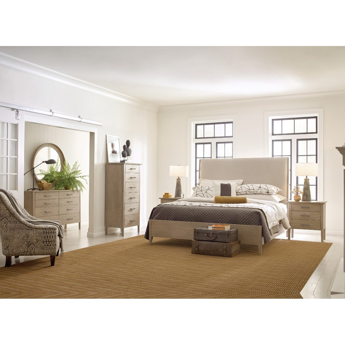 Symmetry Queen Bedroom Group by Kincaid Furniture at Johnny Janosik