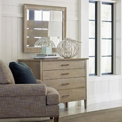 Symmetry Dresser and Mirror Set at Stoney Creek Furniture