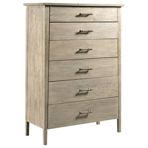Contemporary Solid Wood Drawer Chest