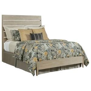 Incline Oak King Platform Bed