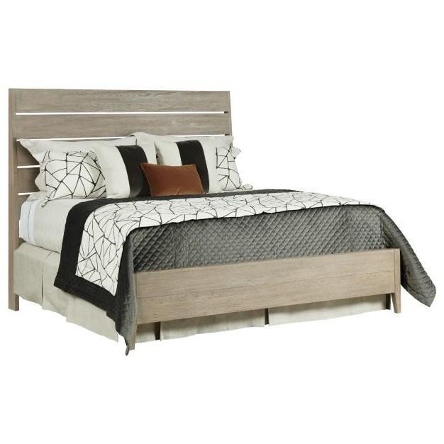 Symmetry Incline Oak King Platform Bed  at Stoney Creek Furniture