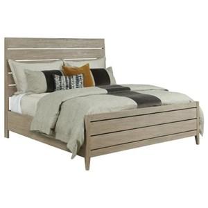 Incline Oak Queen Platform Bed