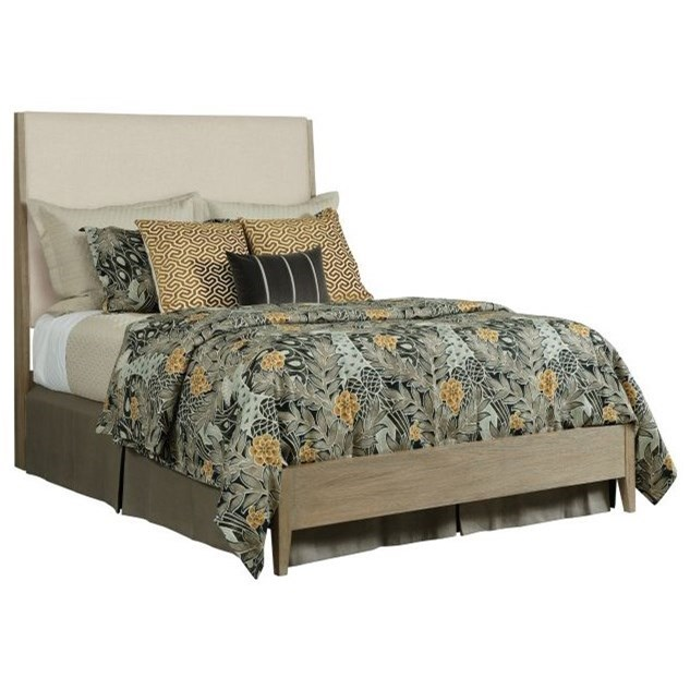 Symmetry Incline King Upholstered Bed by Kincaid Furniture at Johnny Janosik
