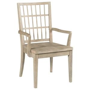 Symmetry Wood Arm Chair