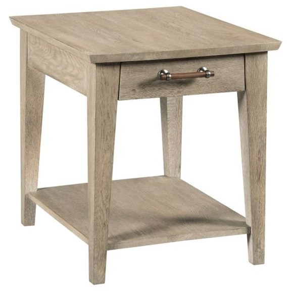 Symmetry Collins Side Table by Kincaid Furniture at Northeast Factory Direct