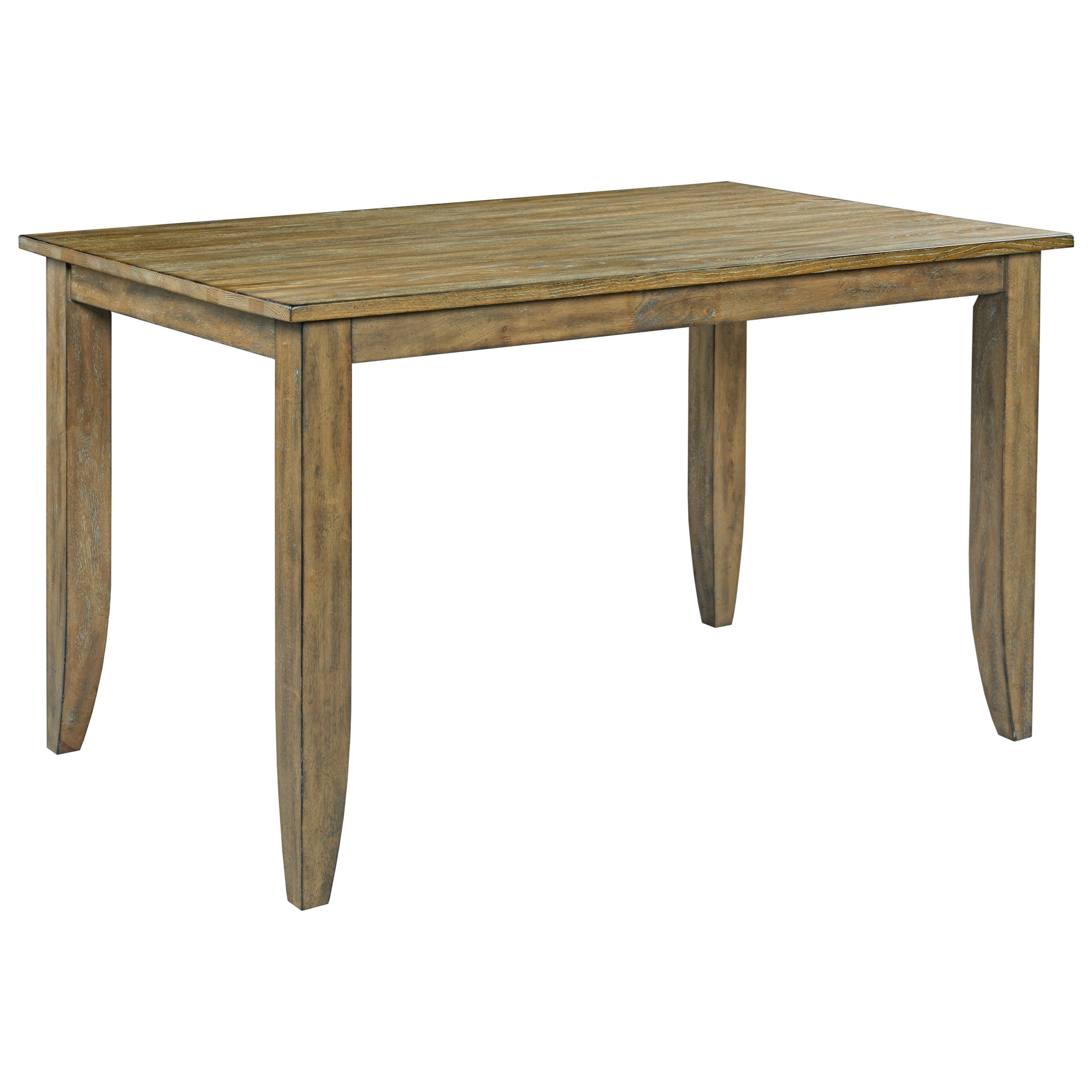 The Nook Counter Height Leg Table by Kincaid Furniture at Johnny Janosik