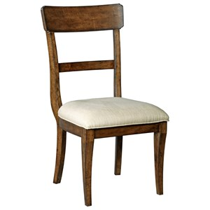 Side Chair w/ Upholstered Seat