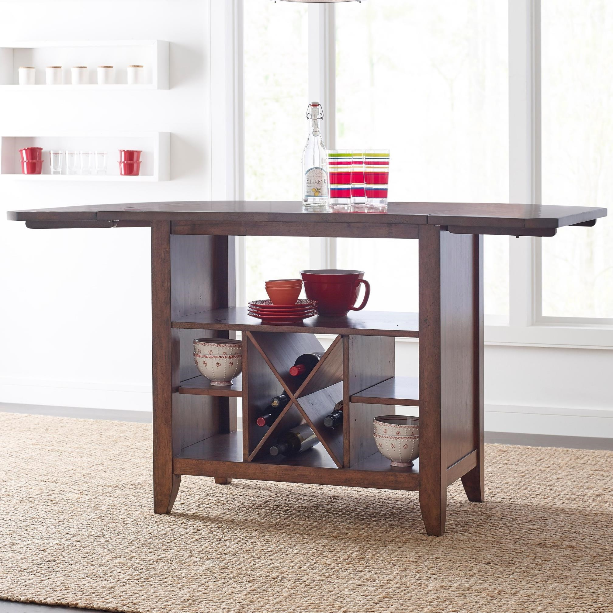 The Nook Kitchen Island by Kincaid Furniture at Johnny Janosik
