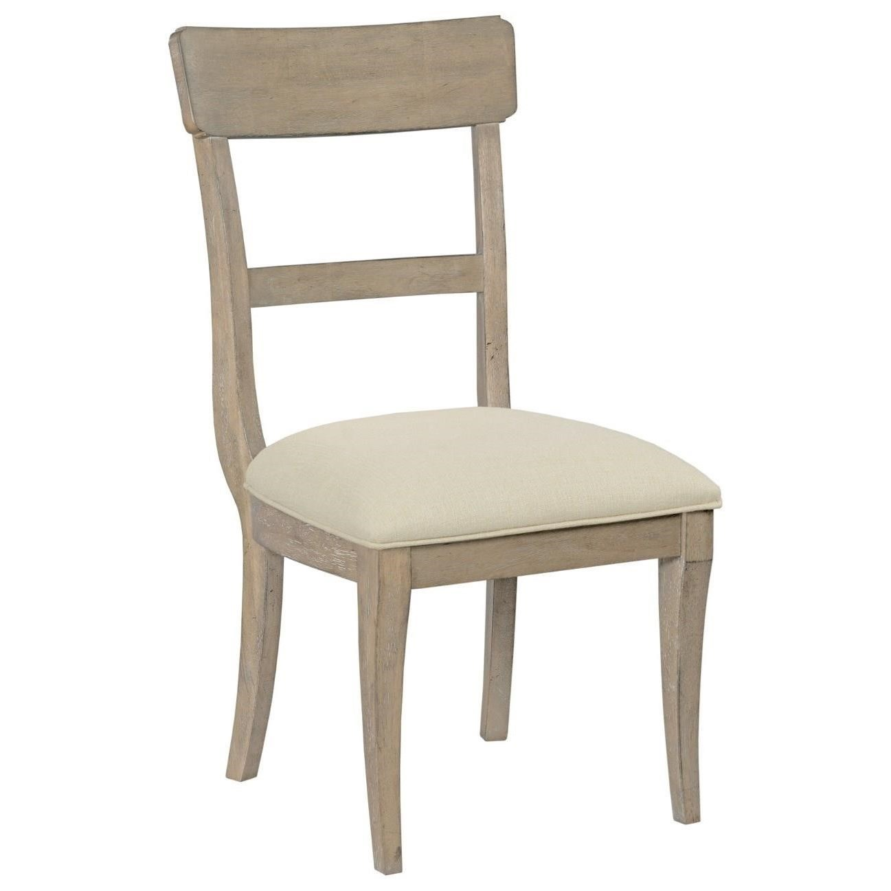 The Nook Side Chair w/ Upholstered Seat by Kincaid Furniture at Johnny Janosik