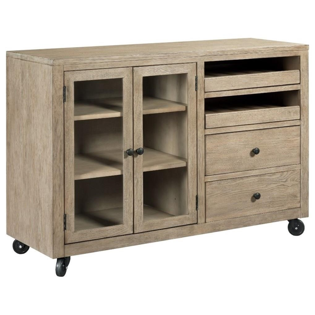 The Nook Mobile Server by Kincaid Furniture at Johnny Janosik