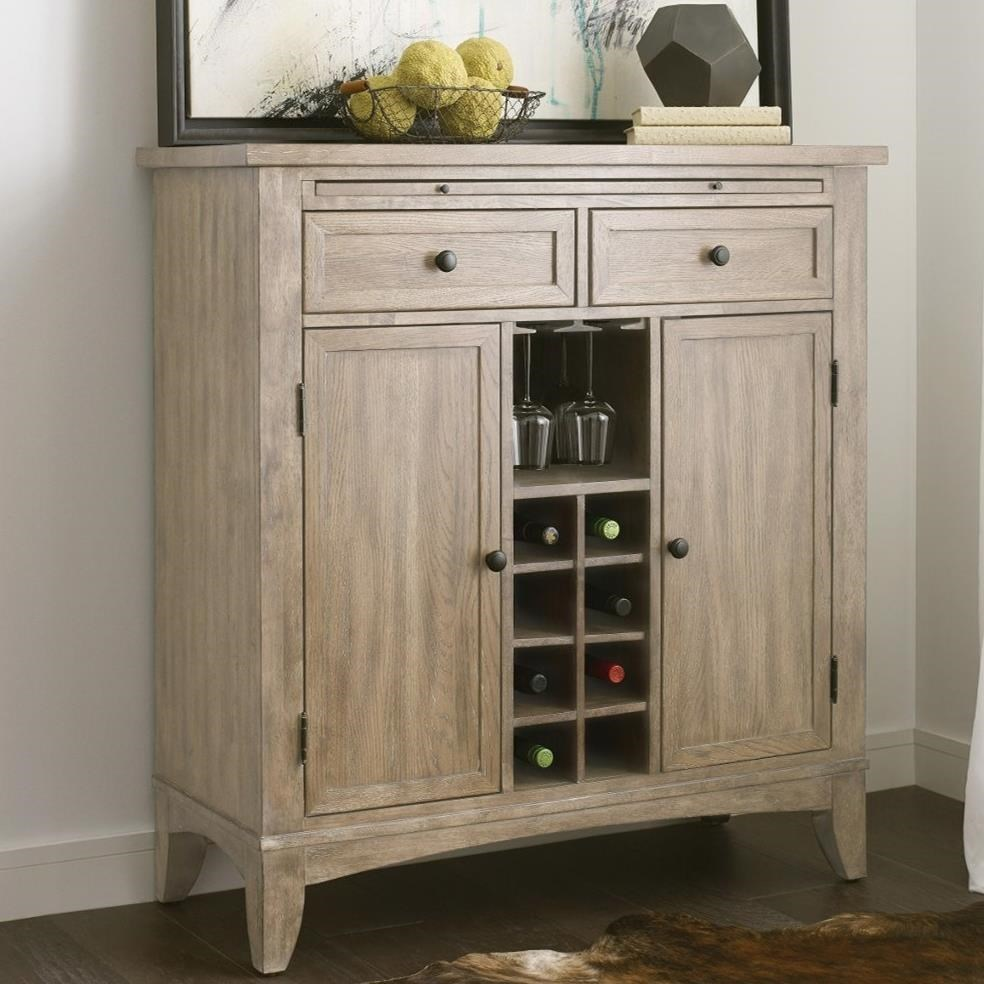The Nook Wine Server by Kincaid Furniture at Johnny Janosik