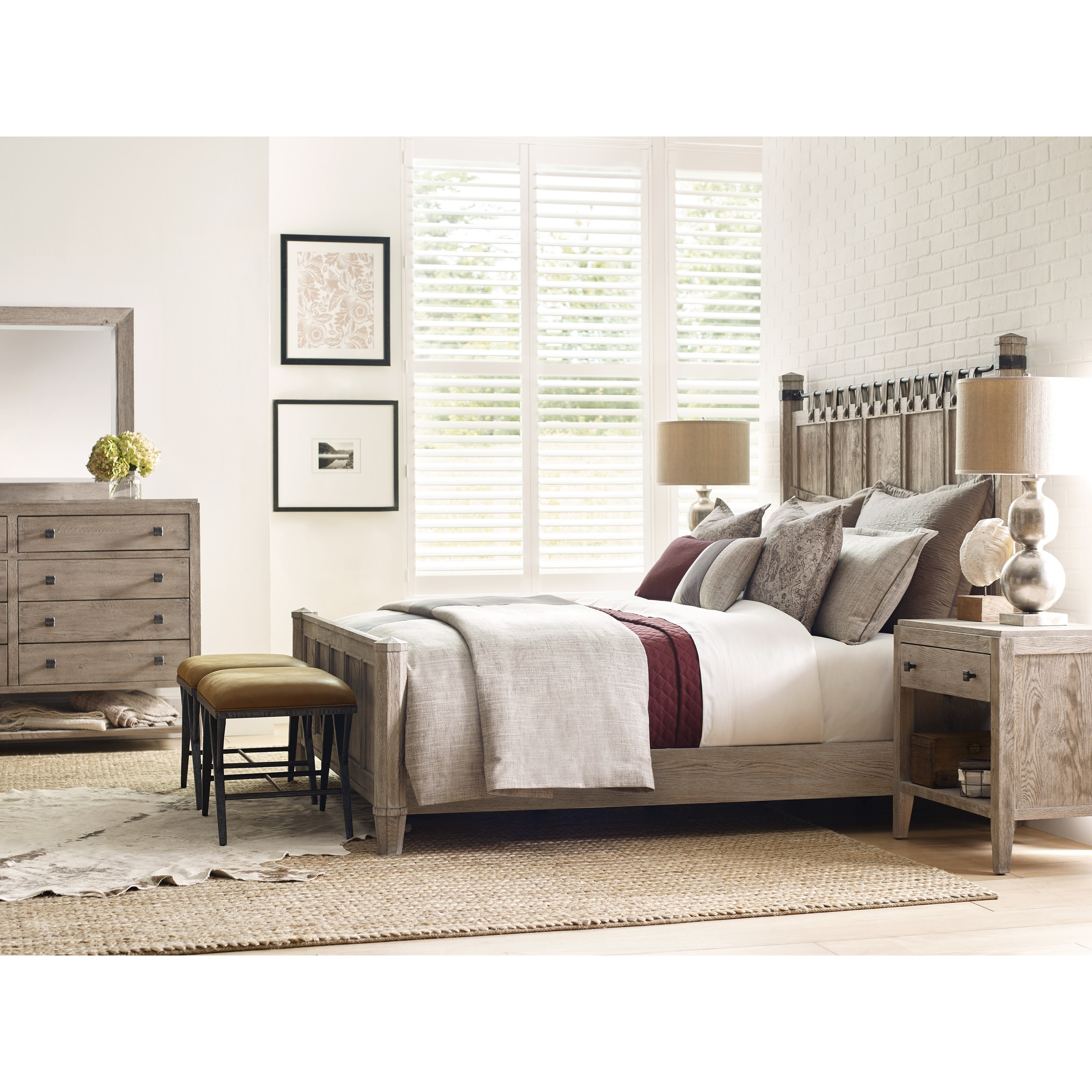 Trails Queen Bedroom Group by Kincaid Furniture at Johnny Janosik