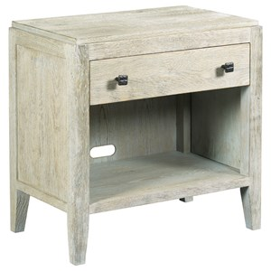 Brevard Nightstand with Electrical Outlet and Wire Management