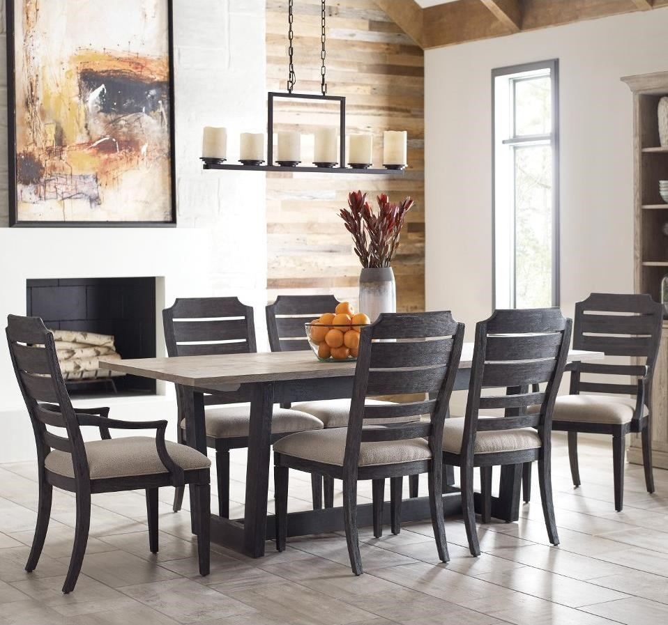 Trails 7 Pc Dining Set by Kincaid Furniture at Northeast Factory Direct