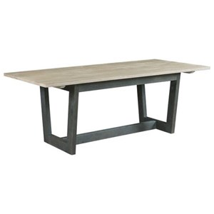 Denali Dining Table with Two-Tone Finish
