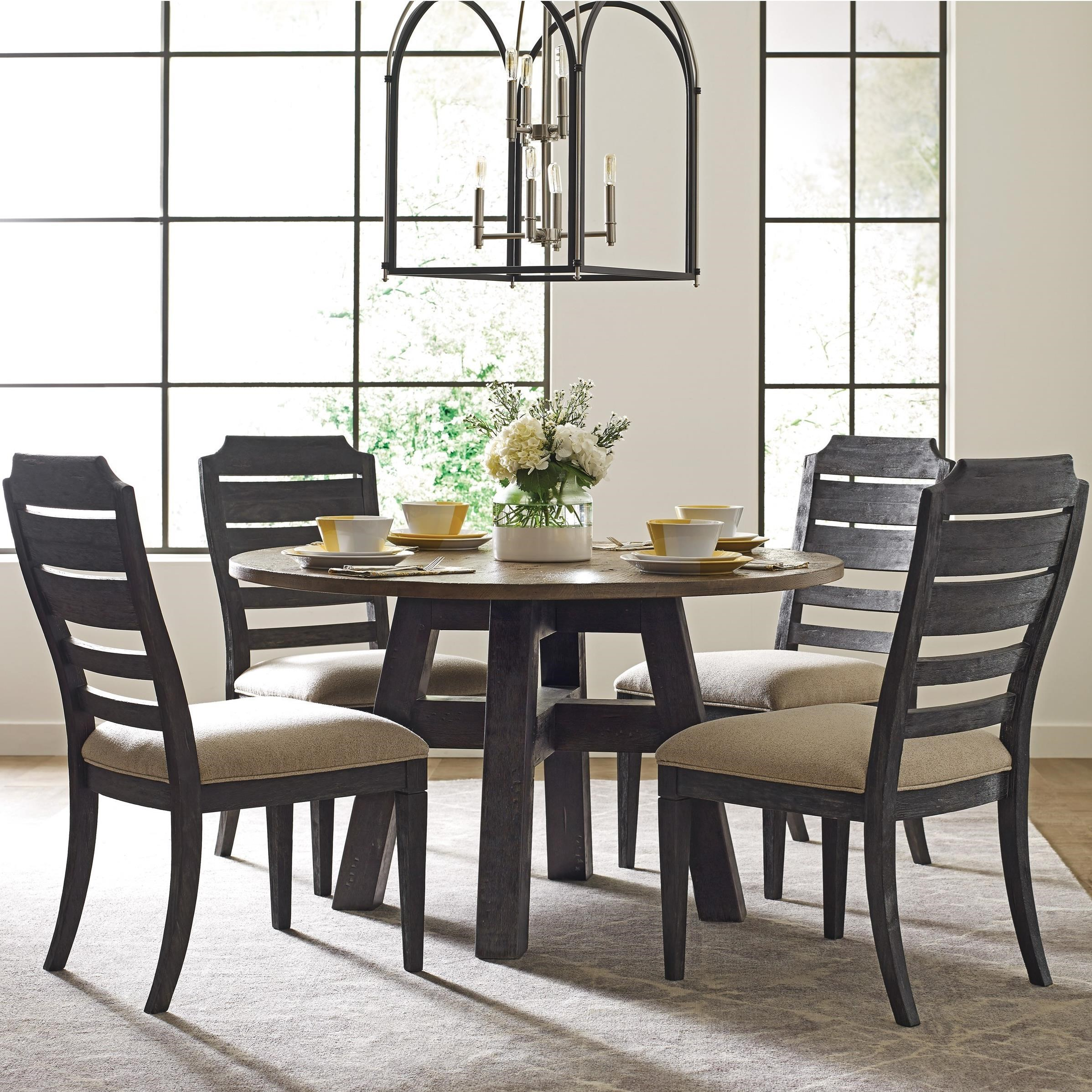 Trails Five Piece Dining Set by Kincaid Furniture at Johnny Janosik