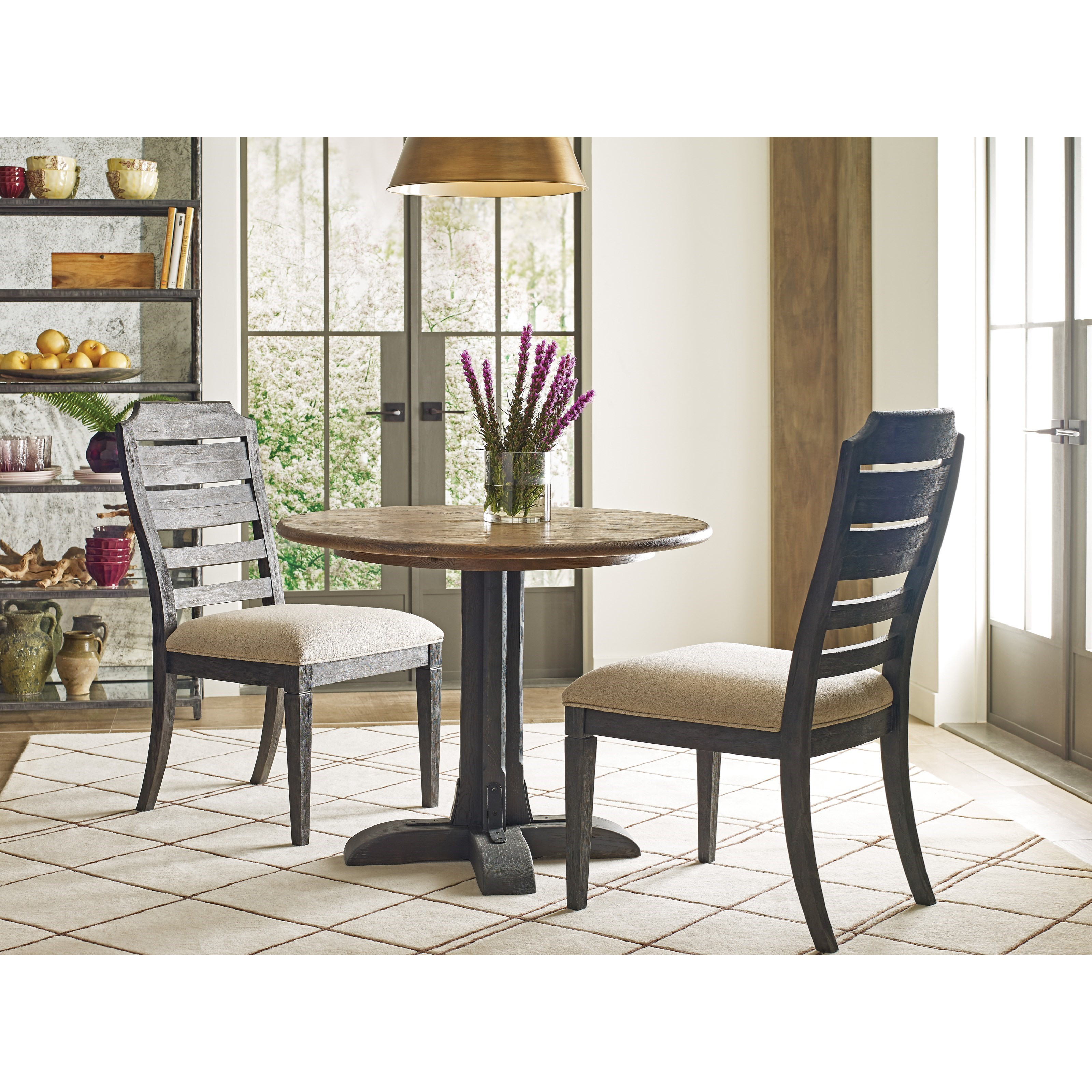 Trails Three Piece Dining Set by Kincaid Furniture at Powell's Furniture and Mattress