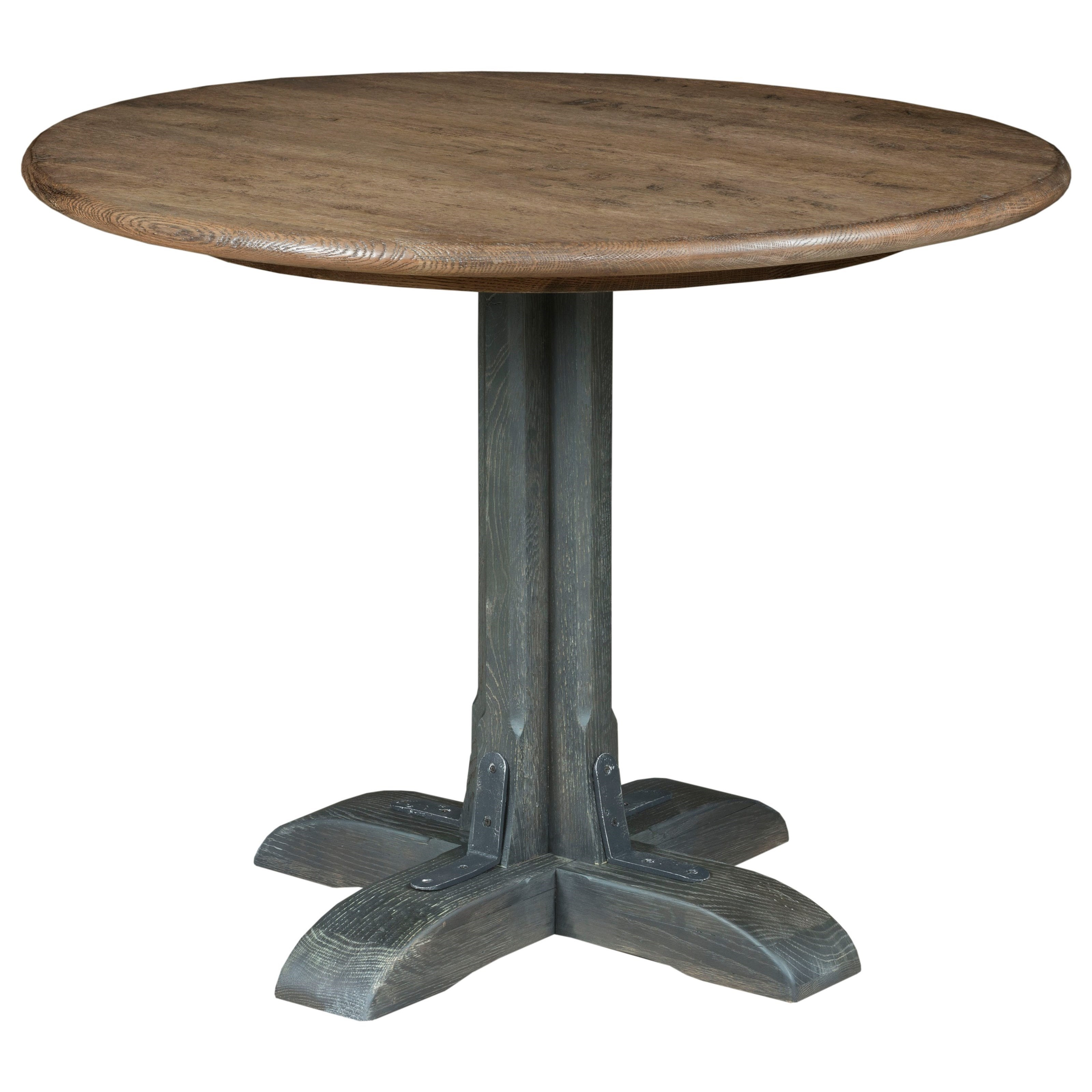 Trails Franklin Round Dining Table by Kincaid Furniture at Johnny Janosik