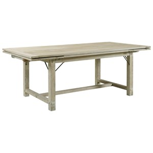 """Winston Refectory Trestle Table with Two 18"""" Leaves"""