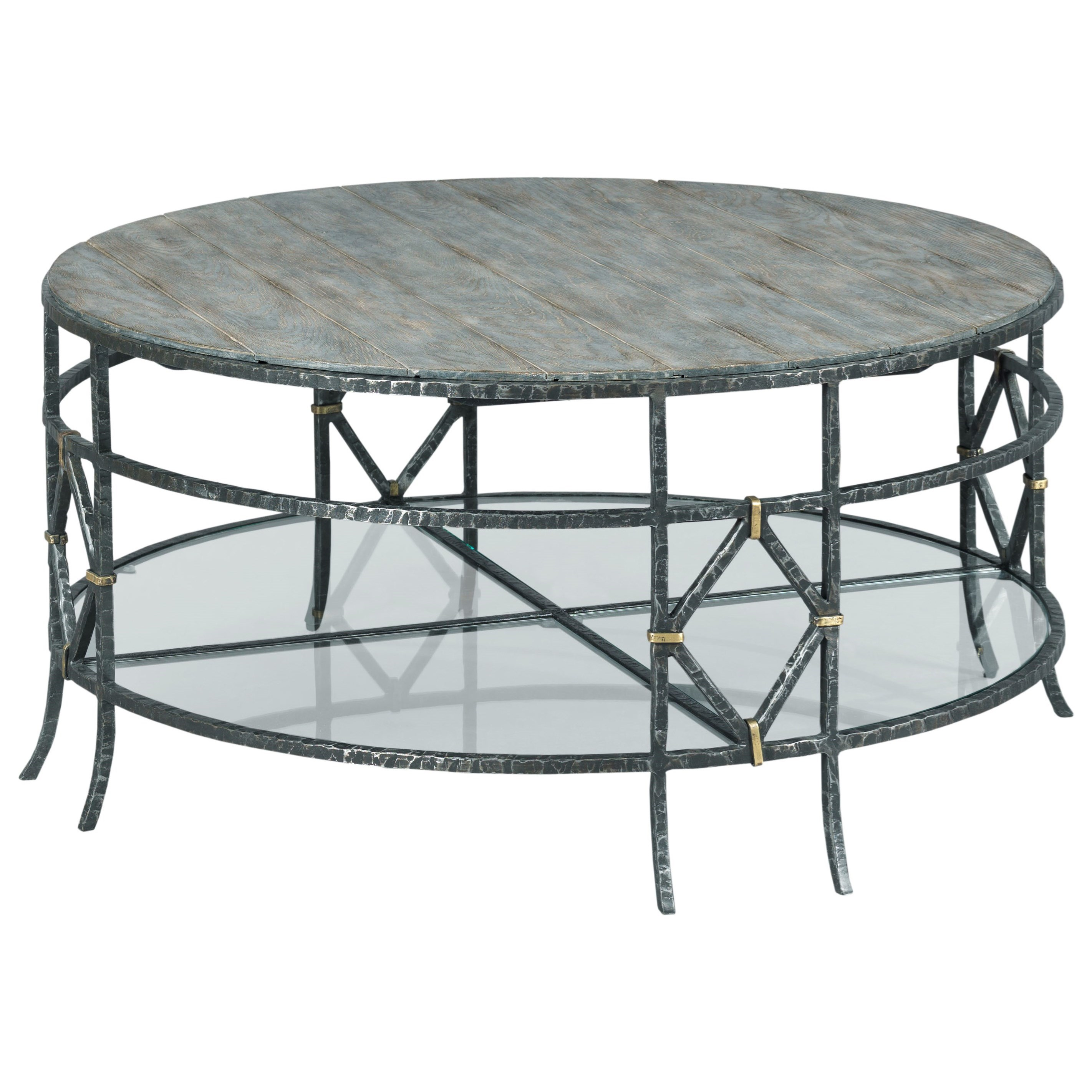 Trails Monterey Round Coffee Table by Kincaid Furniture at Northeast Factory Direct