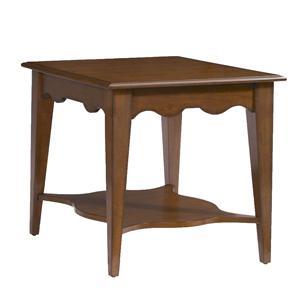 Kincaid Furniture Treasures  Carolina End Table