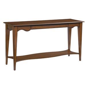 Kincaid Furniture Treasures  Carolina Sofa Table