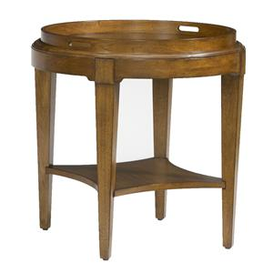 Kincaid Furniture Treasures Round End Table