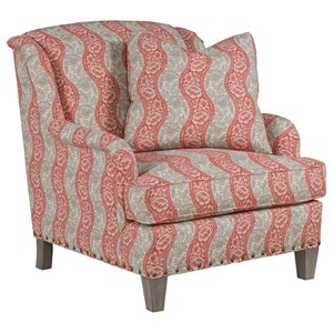 Tuesday Upholstered Chair with Nail Head Trim